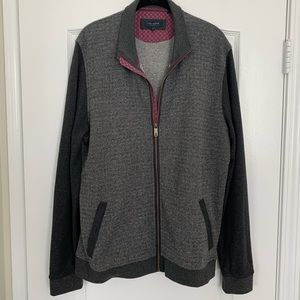 Ted Baker Zip Up Sweater